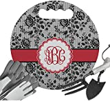 RNK Shops Black Lace Gardening Knee Cushion (Personalized)