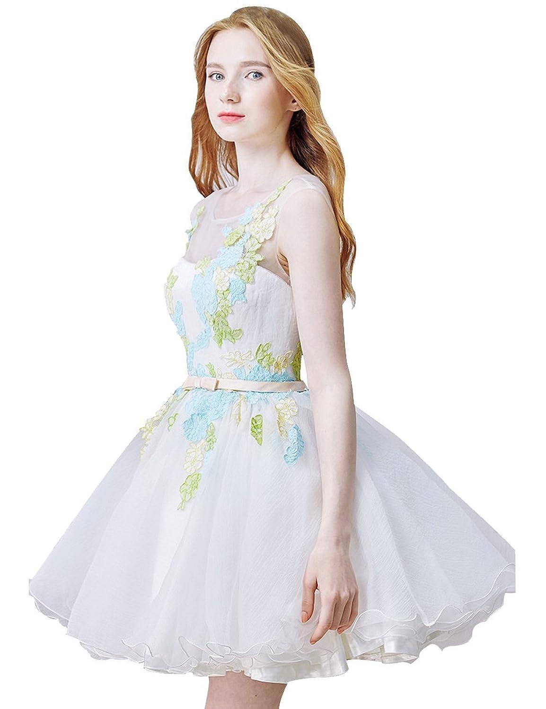 Lactraum Women's A-Line Sleeveless Dress White white