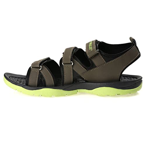 469bf0e17d10 PARAGON Stimulus Men s Green Sandals  Buy Online at Low Prices in India -  Amazon.in