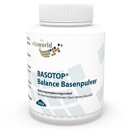 Basotop Polvo Alcalinizante Mineral 300g, Sin Citrato de Sodio Vita World Farmacia Alemania - Multimineral