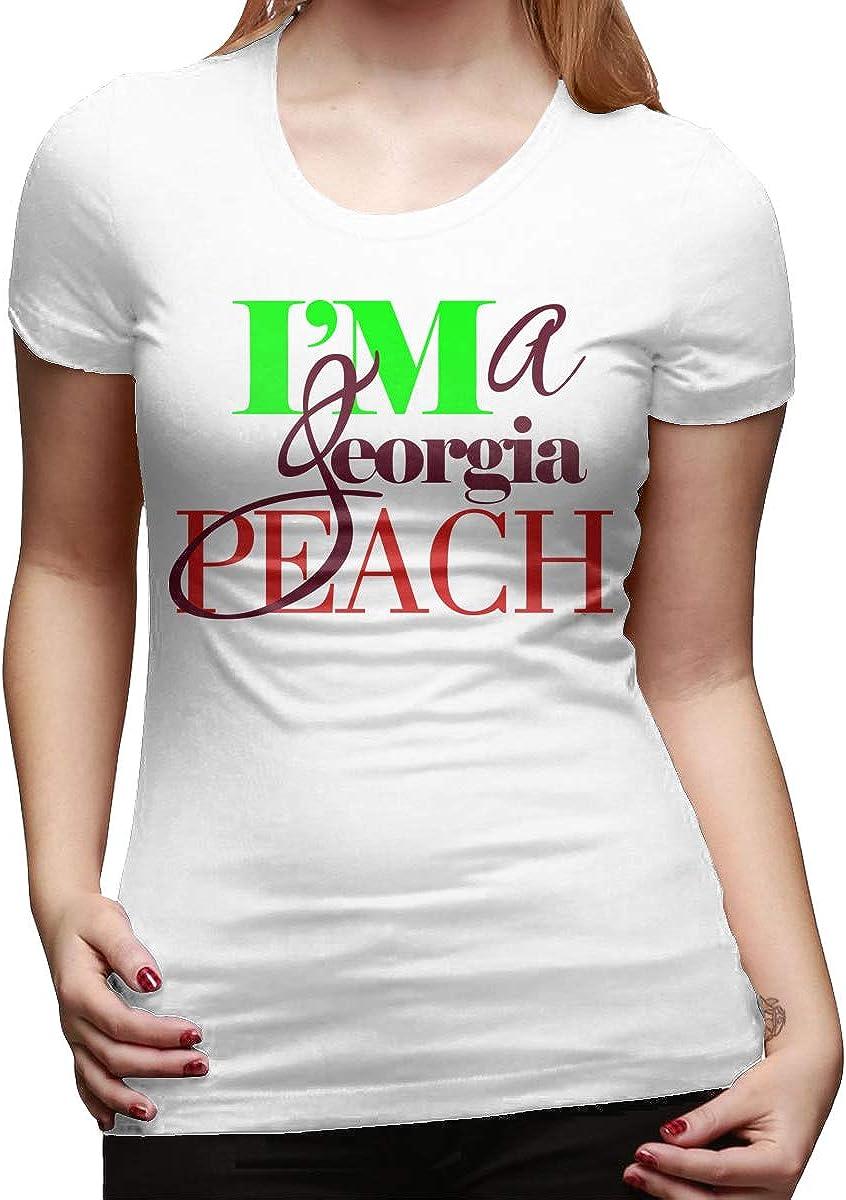 Im A Georgia Peach Lady Tee Short-Sleeve