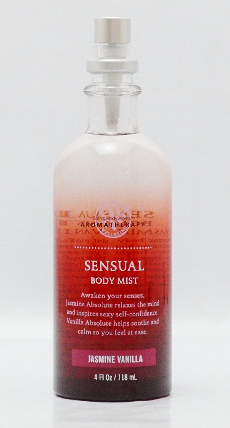 Bath & Body Works Sensual Jasmine Vanilla Body Mist 4 oz