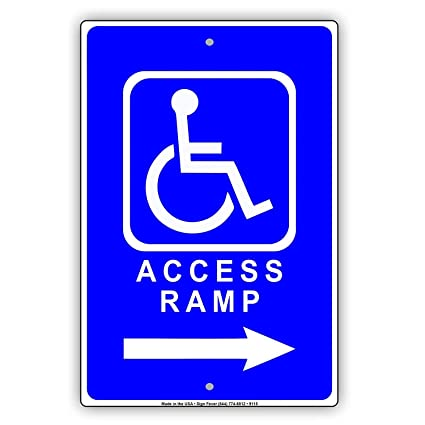 Amazon.com: Una sonrisa ojo Handicap acceso rampa dirección ...