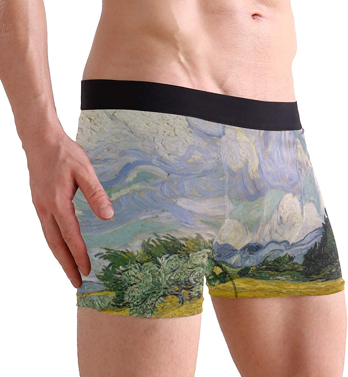 TOOLOUD Happy Easter Bunny Face Boxers Shorts