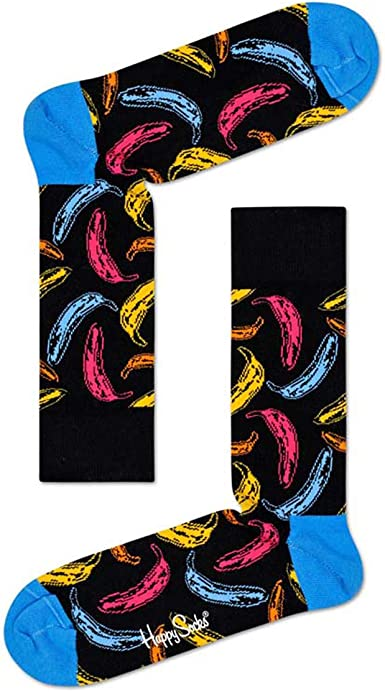 Happy Socks Men/'s Banana Brief-Rose-Medium-BAN84-3000