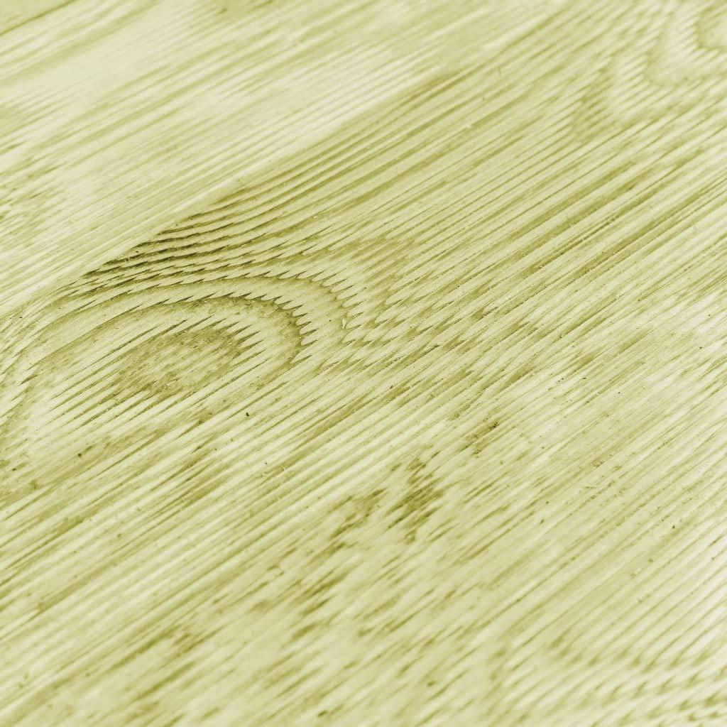 Dalle Tapis Exterieur 150x14,5 cm Bois FSC Caillebotis Piscine Bois Tidyard Lames de Terrasse 12 pcs