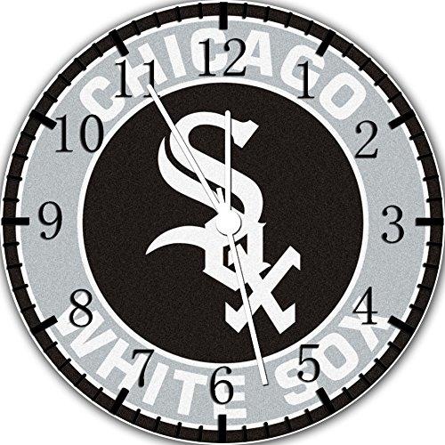 White Sox Frameless Borderless Wall Clock F64 Nice for Gift or Room Wall Decor