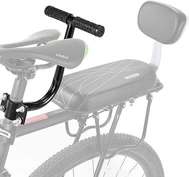 Rziioo Bicicleta del Asiento Trasero de la manija, manija de la ...