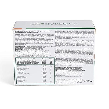 Packs 500Cosmetics Intest: Pastillas y Crema para prevenir y aliviar hemorroides (1)