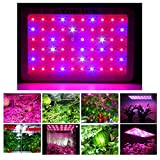 YaeTek 600W Full Spectrum LED Grow Light for Greenhouse Plants Vegetables and Bloom(10w LEDs)