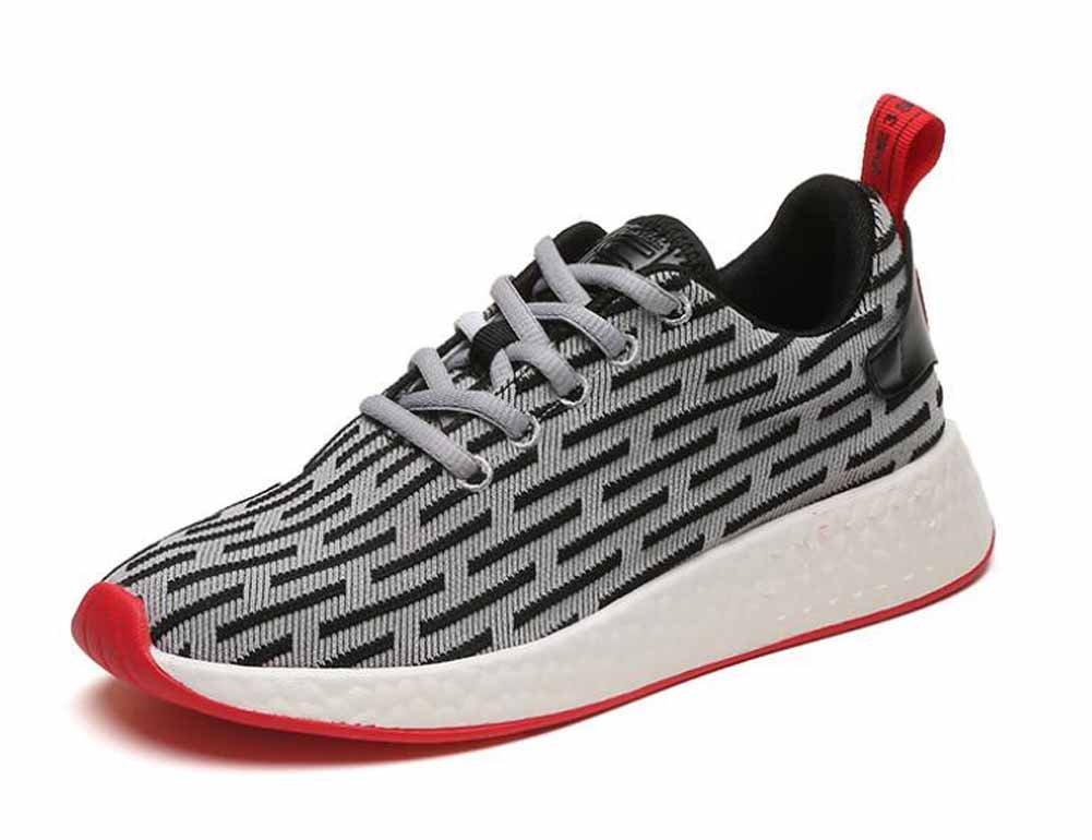 Hombres casual Athletic Shoes 2017 otoño nuevos jóvenes par transpirable zapatos corrientes ( Color : A , Size : 40 ) 40 A
