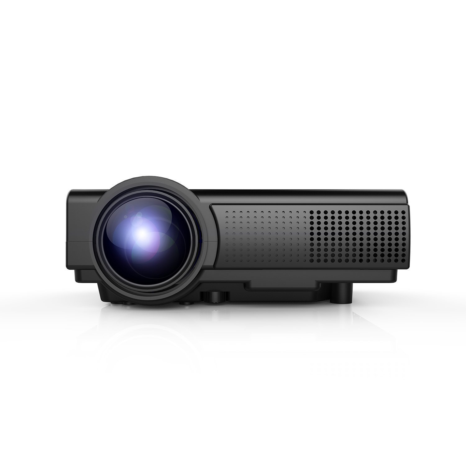 Proyector TENKER Q Mini Proyector LCD de Lumens Multimedia Home Theater Video