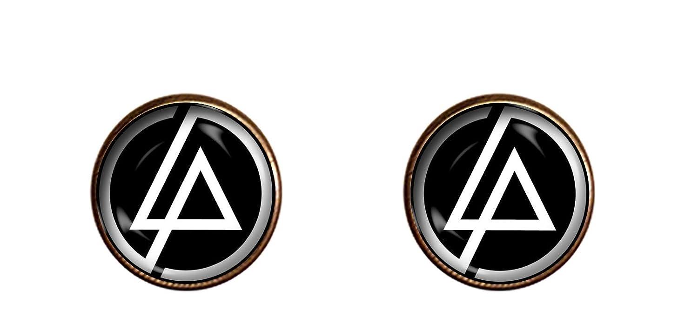 Linkin Park Cuff LinksハンドメイドChester Benningtonジュエリーペンダントチャームギフト B07856QSQN