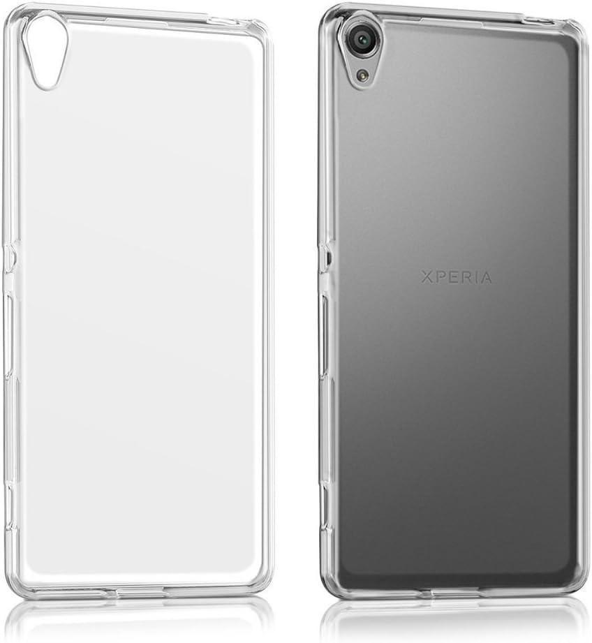 REY Funda Carcasa Gel Transparente para Sony Xperia XA, Muy Fina 0,33mm, Silicona TPU de Alta Resistencia y Flexibilidad: Amazon.es: Electrónica