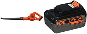 BLACK+DECKER LSW221 Cordless Sweeper + 20-Volt Battery Pack