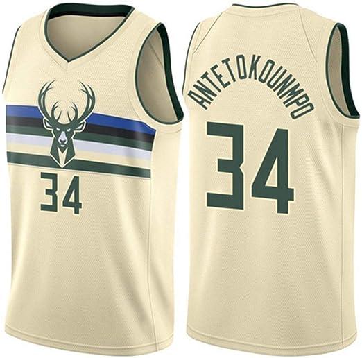 CHXY NBA Camiseta De Baloncesto para Hombre, Giannis Antetokounmpo ...