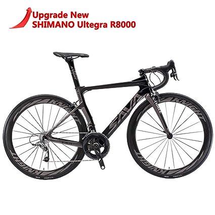 dab986d659f SAVADECK Phantom 2.0 700C Carbon Fiber Road Bike Shimano Ultegra 6800 22  Speed Group Set with