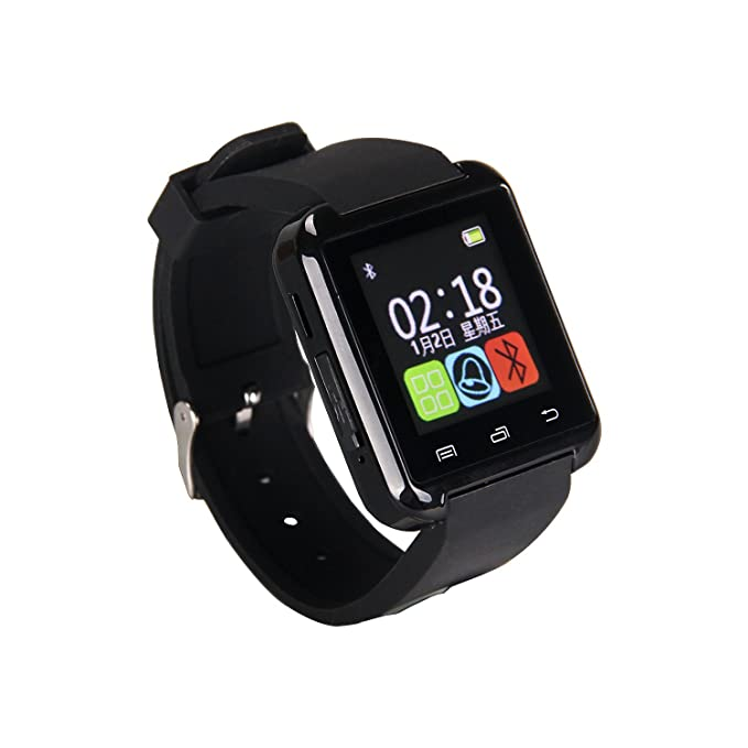 Amazon.com: Gtide New U Watch Bluetooth Smart Watch Wrist ...