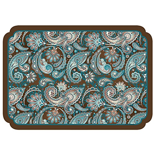 Hoffmaster 311108 Paisley Placemat, 100% Recycled Paper, 9-3/4