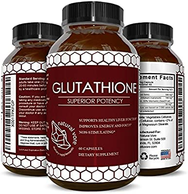 Pure Glutathione Supplement Natural Skin Whitening Pills for Men and Women Pure Antioxidant for Anti Aging Benefits 500 mg Reduced Form Glutathione with Milk Thistle Extract 60 Caps - 10162894 , B075BMFY2C , 285_B075BMFY2C , 1323738 , Pure-Glutathione-Supplement-Natural-Skin-Whitening-Pills-for-Men-and-Women-Pure-Antioxidant-for-Anti-Aging-Benefits-500-mg-Reduced-Form-Glutathione-with-Milk-Thistle-Extract-60-Caps-285_B075BMFY2C ,