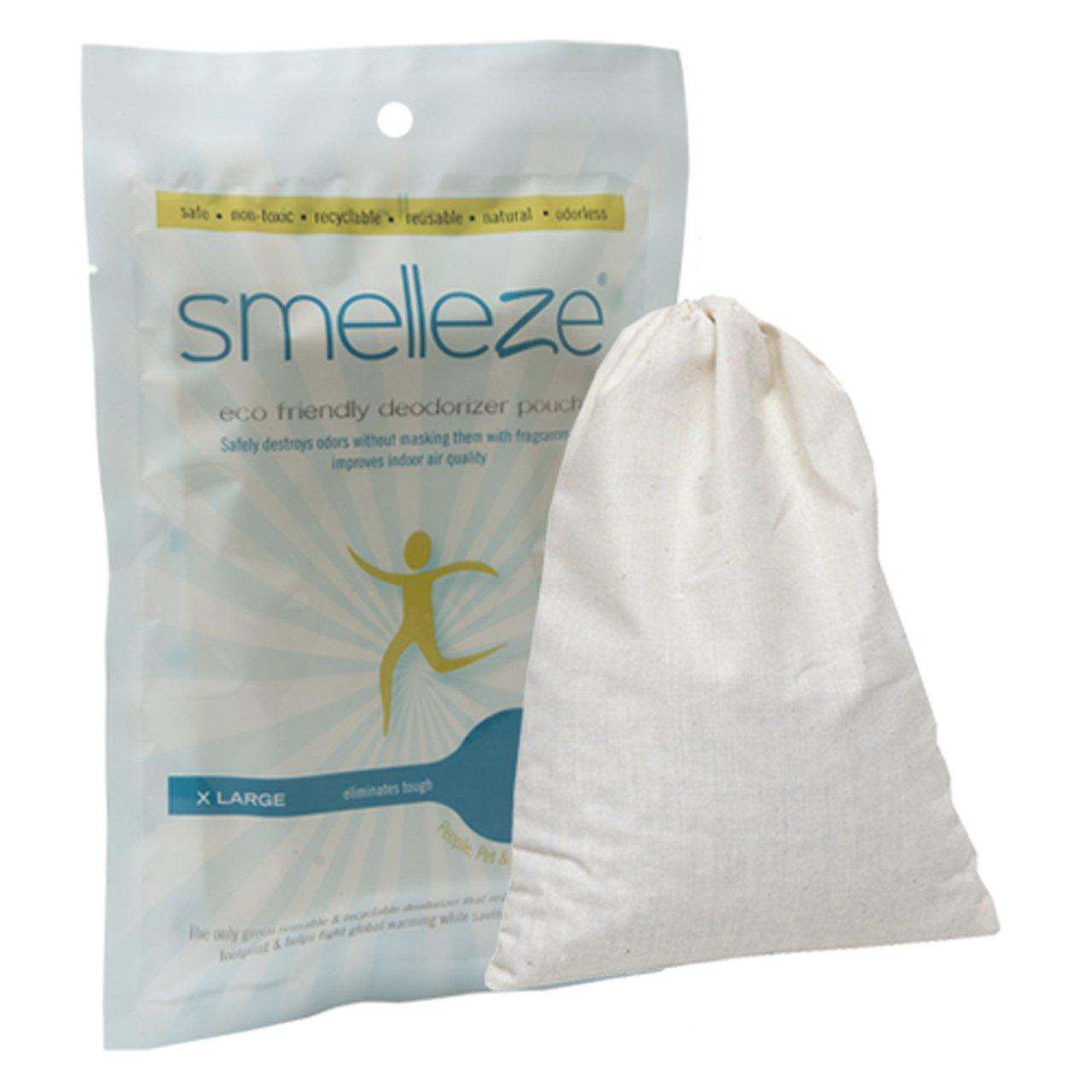 SMELLEZE Pochette Retrait RV & Camper Odeur Sport réutilisable: Détruit les odeurs sans revêtements IMTEK Environmental Corp.