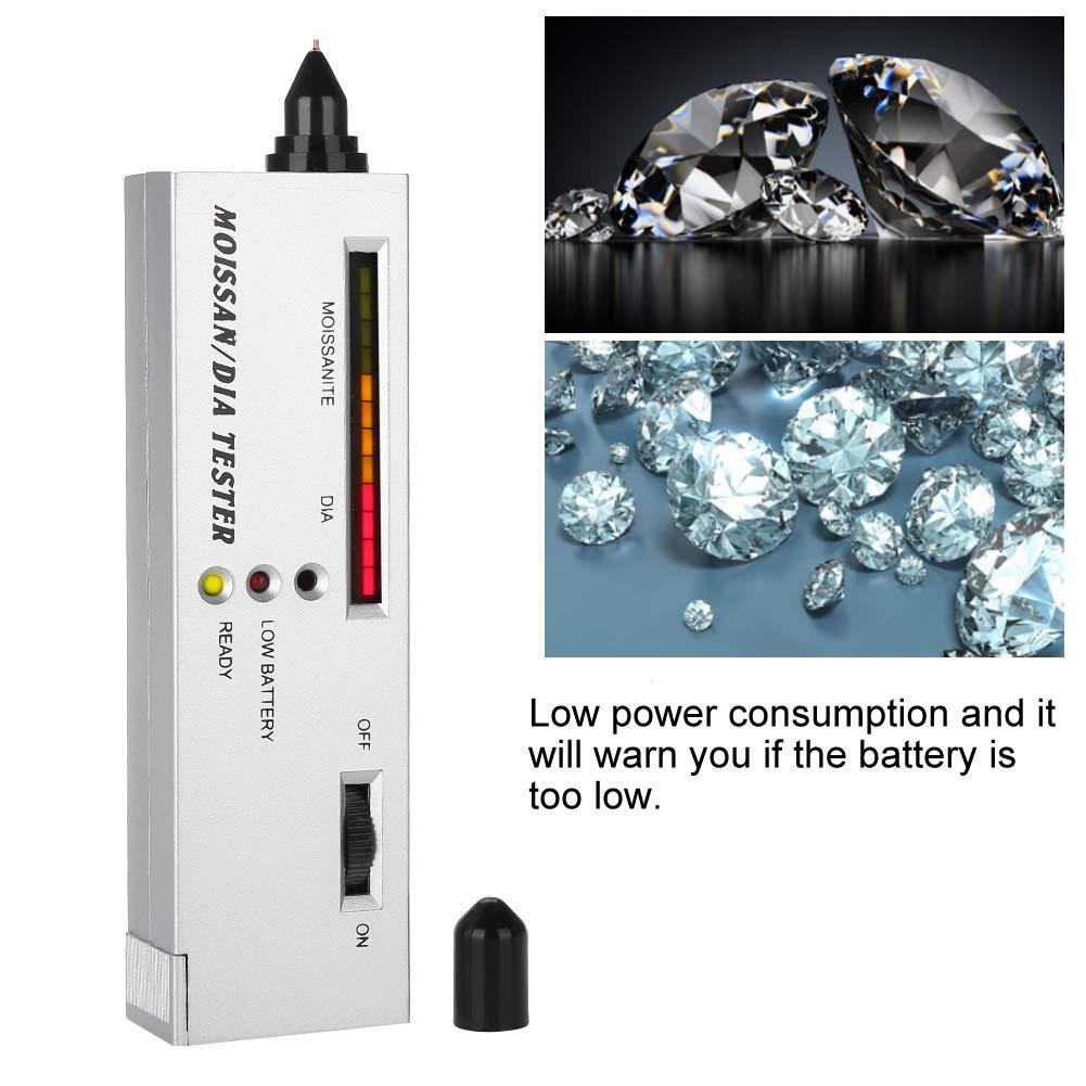 Professional High Precision Diamond Tester V2 CE Certification Diamonds Watcher Tool LED Diamond Indicator Test Moissanite Detection
