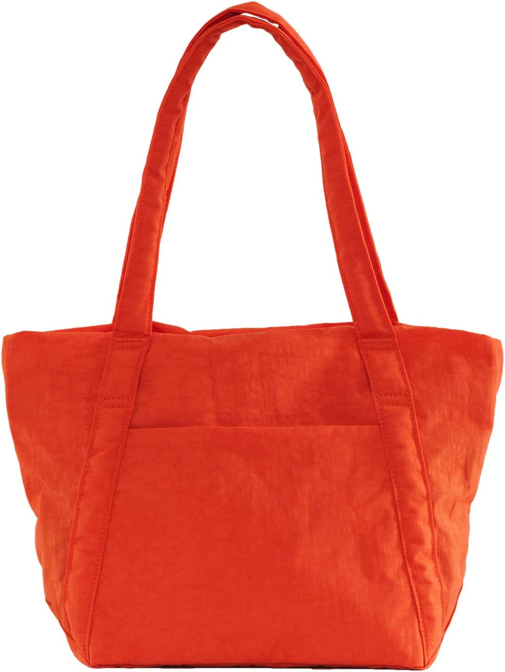 Lightweight Nylon Packable Tote for Travel or Everyday Use Cobalt BAGGU Mini Cloud Bag
