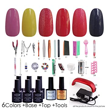 Amazon Nddn Nail Polish Holder Base And Top Coat Gel Polish