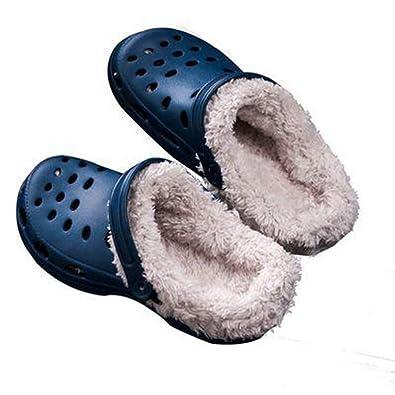 Chaussures D'origine En D'hiver Croc Femmes Plein Sabot Pantoufles LSUVGzMqp