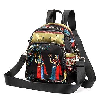 c71ffacf7dca Amazon.com: Sentmoon Women's Large-Capacity Simple Ladies Printing ...