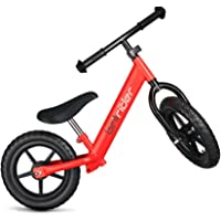 Brilrider Balance Bike for 1-5 Year-Old Toddlers (Red)