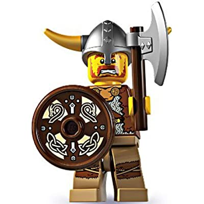 LEGO Series 4 Collectible Minifigure Viking: Toys & Games