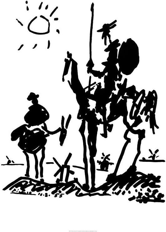 """Pablo Picasso art poster 24x36/"""" Don Quixote"""
