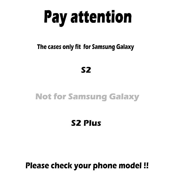 Amazon.com: Phone Case Soft TPU Case for Samsung Galaxy S2 ...