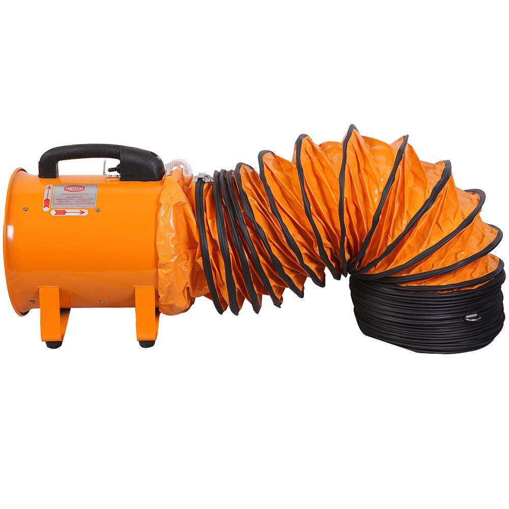 Flexibler Industrieller Portabler Ventilator Abluftschlauch Hochleistung 20cm Power Star