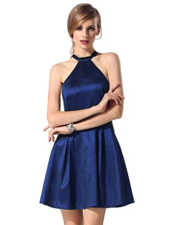 Satin kleid amazon