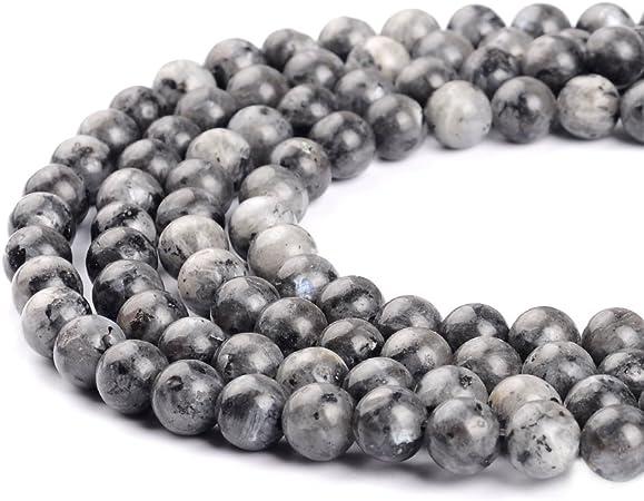 Perles turquoises naturelles africaine pour la confection de bijoux Ruilong 2/mm 3/mm 4/mm 6/mm 8/mm 10/mm 12/mm 2 mm turquoise
