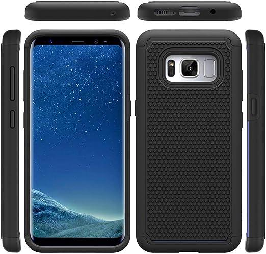 Uposao Kompatibel mit Samsung Galaxy S8 H/ülle Leder Schutzh/ülle Cute Lustig Marmor Muster Brieftasche Magnetische Handyh/ülle Leder Tasche Lederh/ülle Klappbar Sto/ßfest Flip Case,Tiger