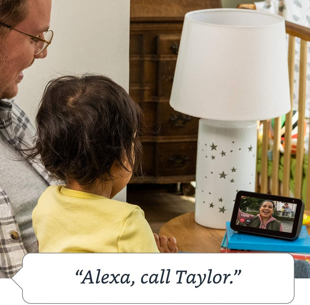Compact smart display with Alexa