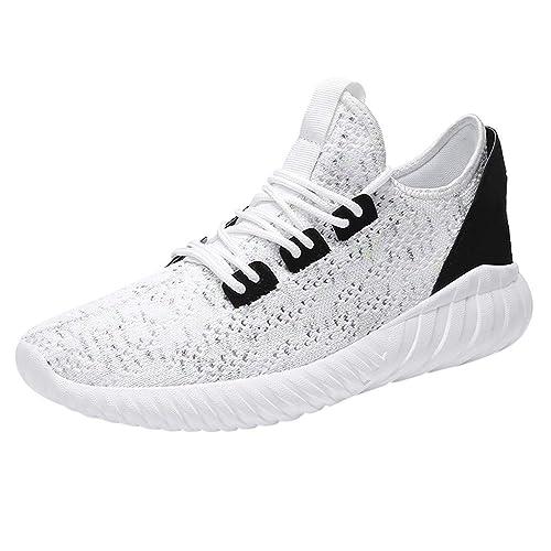 Zapatos Hombre Black Friday Casuales Invierno Malla de Hombre Zapatos Deportivos cómodos y Transpirables Zapatillas Deportivas Zapatillas de Deporte: ...