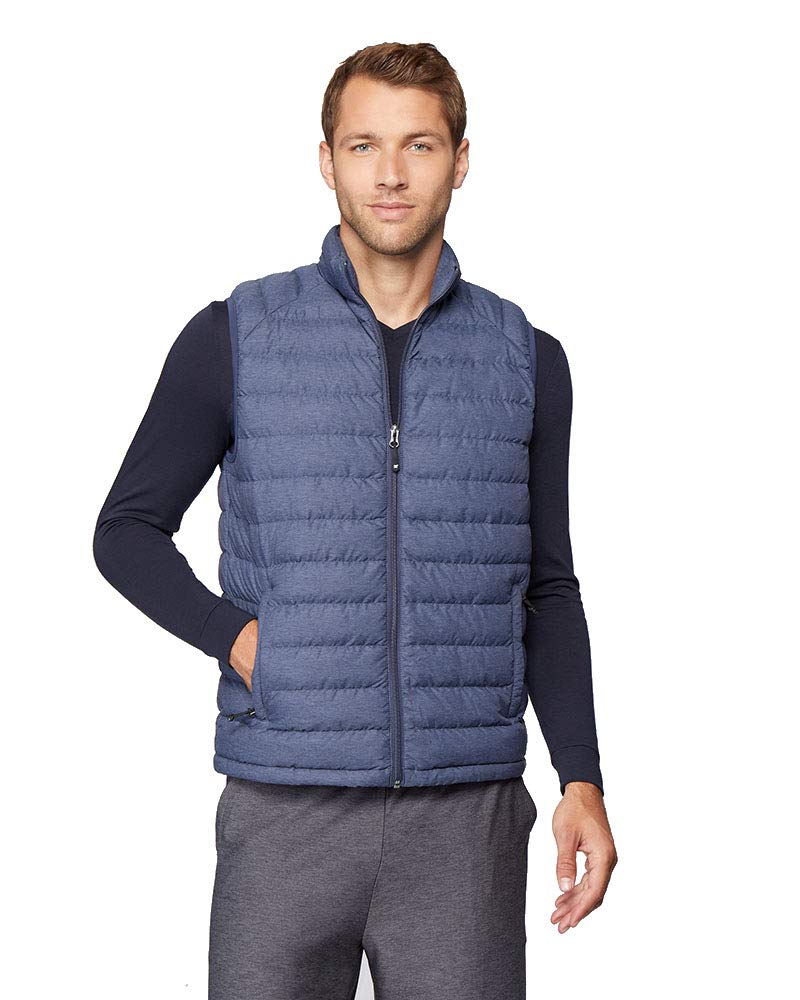 Mens Ultra-Light Down Packable Vest, Blueberry, Size XXLarge by 32 DEGREES