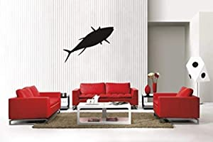 A Design World Home Quotes Wall Stickers Tuna Fish Sty1 Removable Vinyl Wall Decal Home Decor for Bedroom Living Room Office Family