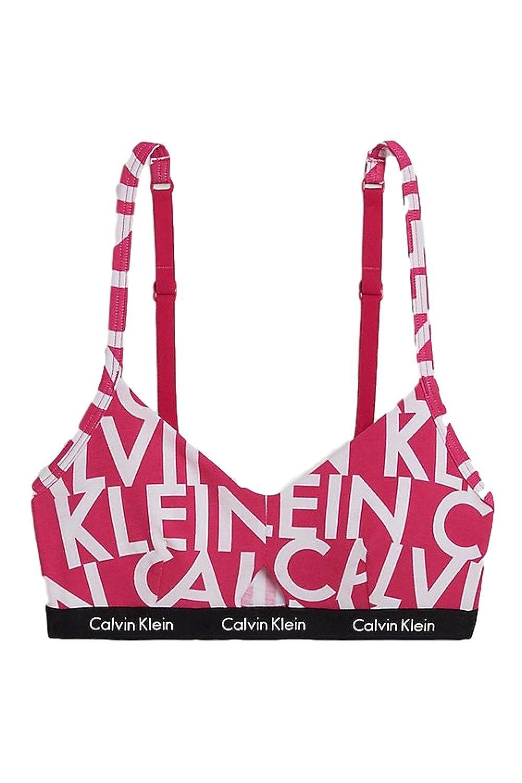 Calvin Klein Hashtag Triangle Bralette (X-Small, Black) at Amazon Womens Clothing store: