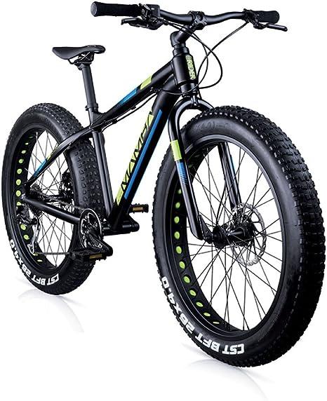 BLACK MAMBA - Fatbike mtb 26 9s: Amazon.es: Deportes y aire libre