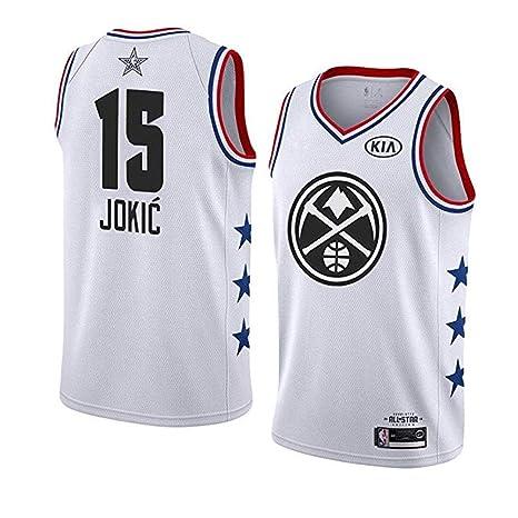 release date 26397 af012 Ldwxxx NBA Nikola Jokic - Denver Nuggets #15, Basketball ...