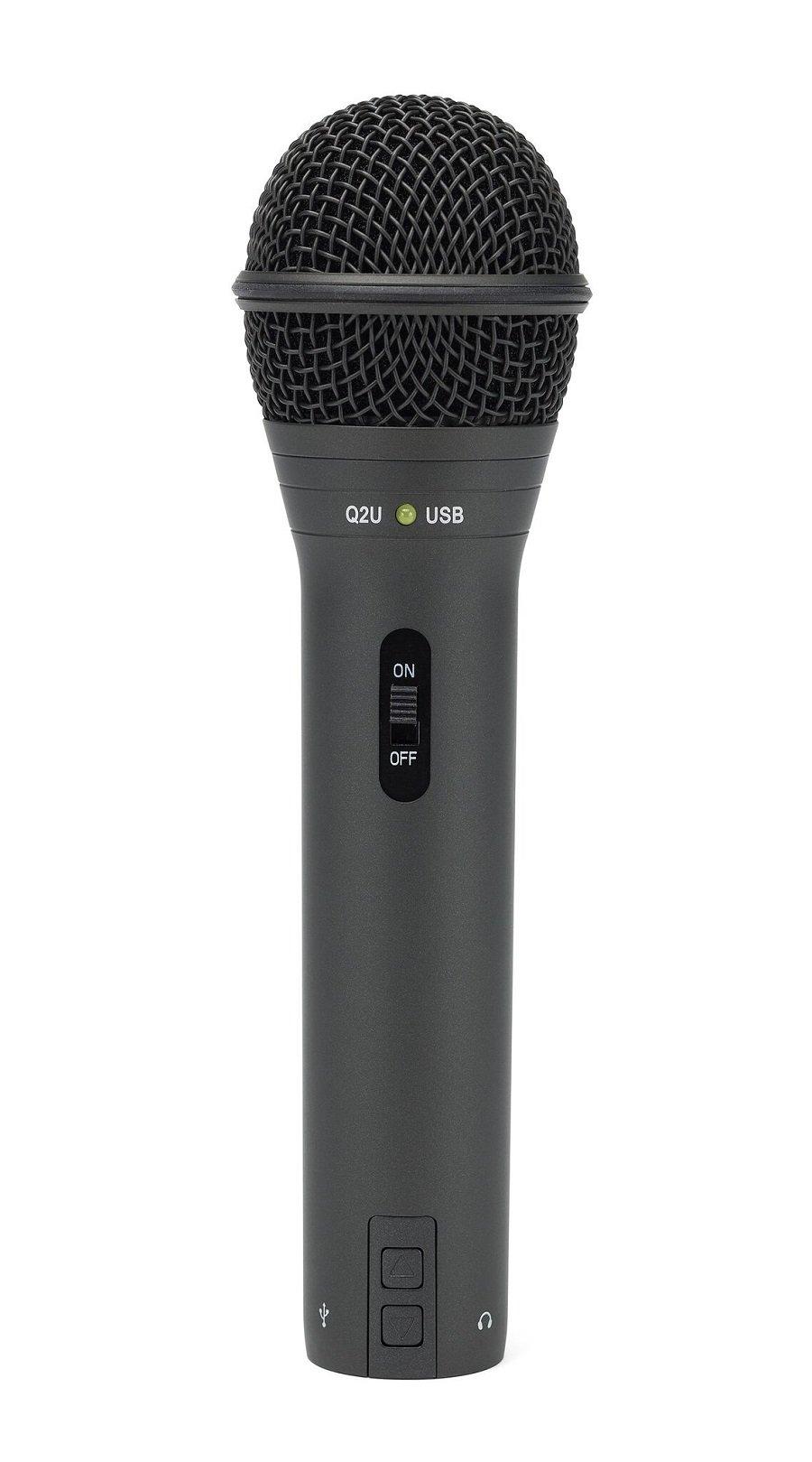 samson q2u handheld dynamic usb microphone recording and podcasting pack techadict. Black Bedroom Furniture Sets. Home Design Ideas