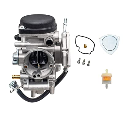 PUCKY Carburetor For Yamaha 2000-2006 Kodiak 400 &Big Bear 400,Wolverine 350, Kodiak YFM400, Grizzly 350: Automotive