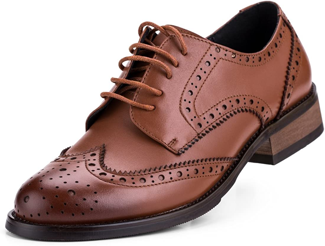 women's casual lace up oxfords shoes
