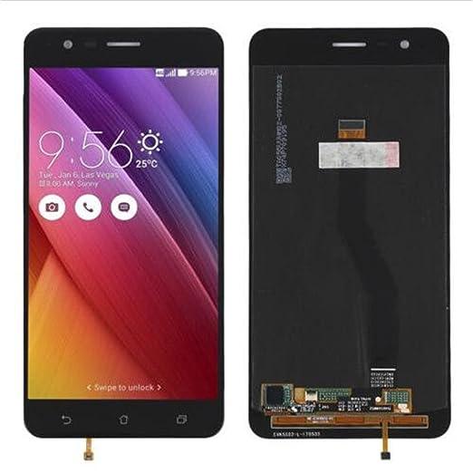 Display im Komplettset LCD Ersatz Für Touchscreen Glas Reparatur (ASUS Zenfone 3 Zoom ZE553KL, Schwarz)