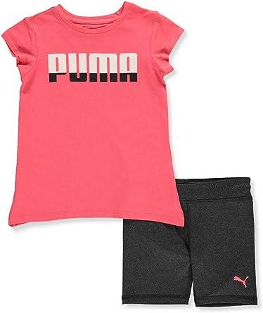 PUMA Girls Biker Short Set